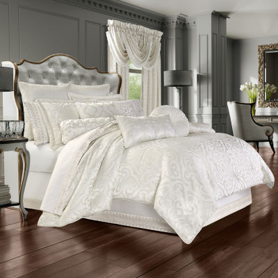 Queen Street Concordia 4-pc. Jacquard Heavyweight Comforter Set