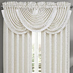 Queen Street Concordia Rod-Pocket Waterfall Valance