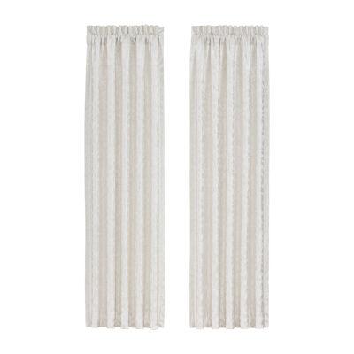 Queen Street Concordia Room Darkening Rod-Pocket Set of 2 Curtain Panel