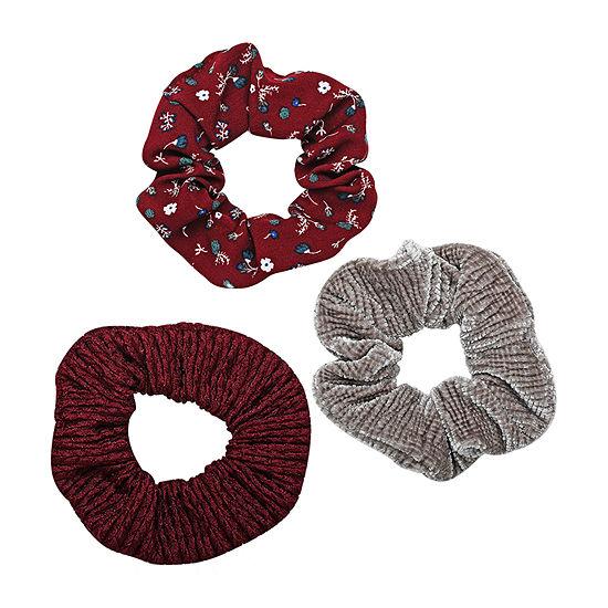 Arizona Red Scrunchie 3-pc. Hair Ties