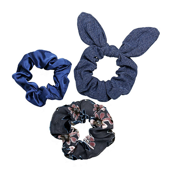 Arizona Blue Scrunchie 3-pc. Hair Ties