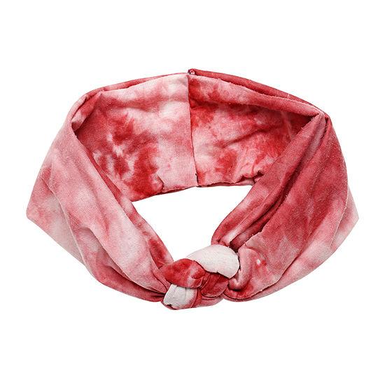 Arizona Red Tie-Dye Hair Wrap