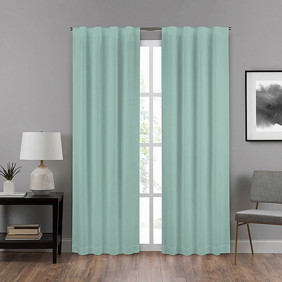 Eclipse Summit Energy Saving Blackout Back-Tab Single Curtain Panel