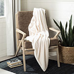 Safavieh Marshmallow Solid Faux Fur Lightweight Throw