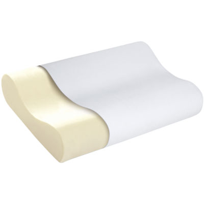 Sleep Innovations® Memory Foam Contour Bed Pillow