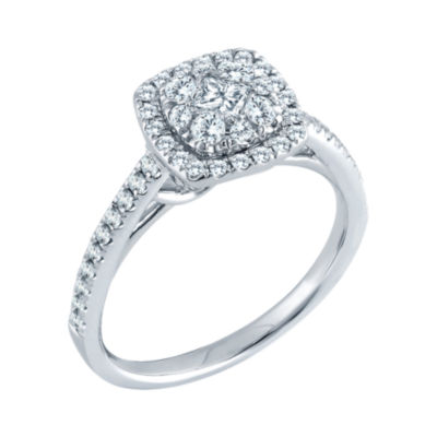5/8 CT. T.W. Diamond Engagement Ring 14K Gold