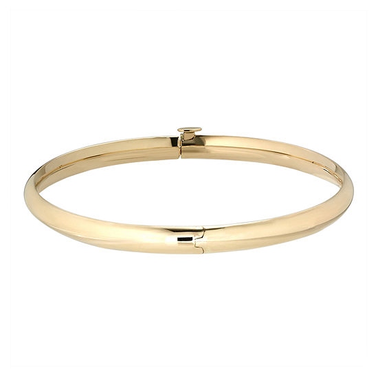 Jcpenney Gold Bracelets: 14K Gold Hinged Bangle Bracelet