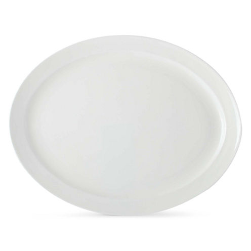 Bone China Oval Serving Platter