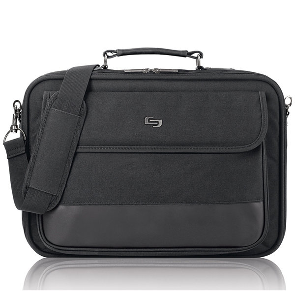 "SOLO Classic 15.6"" Laptop Slim Briefcase"