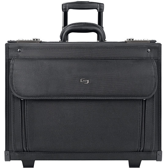 "SOLO Classic 17.3"" Rolling Catalog Case"