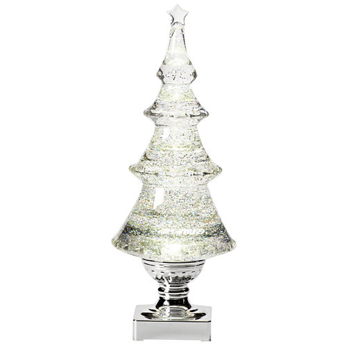 Roman White Swirl Acrylic Christmas Tree