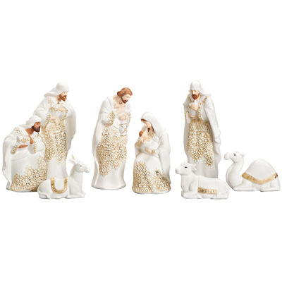 Roman 8-pc. Lace Nativity Set