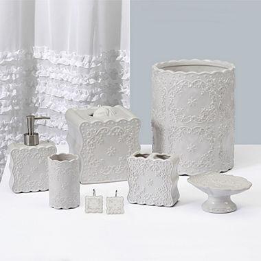 jcpenney.com | Creative Bath Ruffles Bath Collection