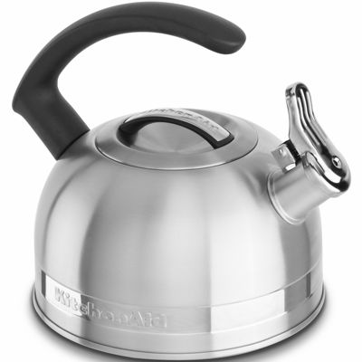 "KitchenAid® 2-qt. Kettle with ""C"" Handle and Trim Band KTEN20CBOB"