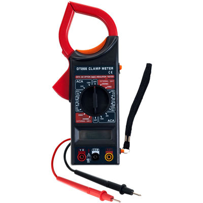 Stalwart™ Digital Clamp Electronic Volt/Amp Meter Kit