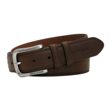 Realtree™ Double-Stitch Leather Casual Belt