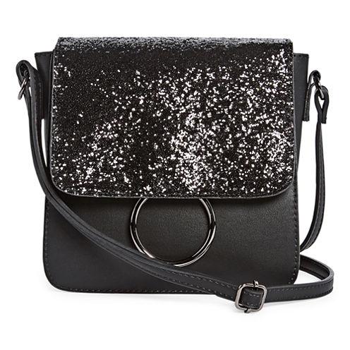 Mini Sparkle Flap Crossbody Bag