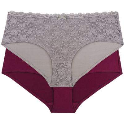 Dorina Casey 2-pc. Lace Hipster Panty