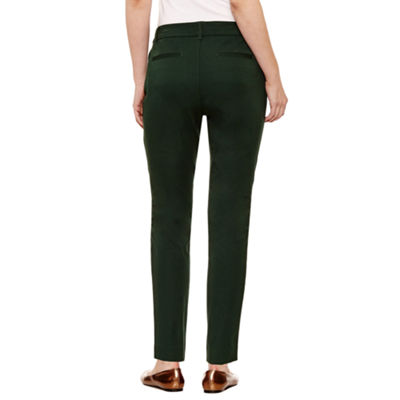 St. John's Bay Bi Stretch Ankle Pant - Tall