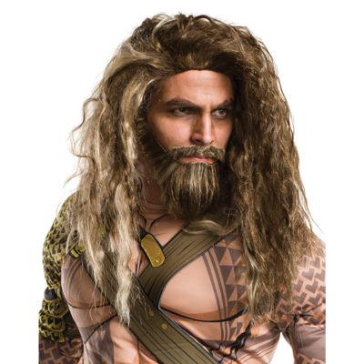 Batman v Superman Dawn of Justice: Aquaman Adult Beard and Wig