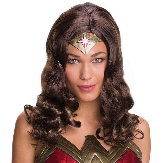 Batman v Superman Dawn of Justice: Wonder Woman Adult Wig