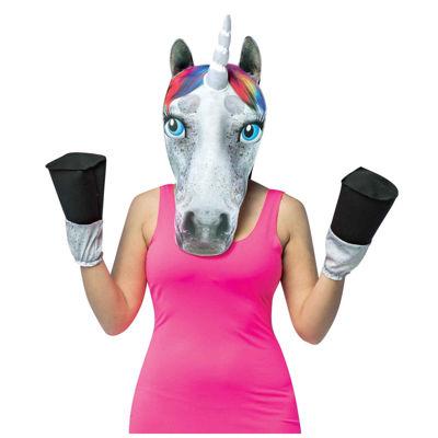Unicorn Adult Animal Costume Kit