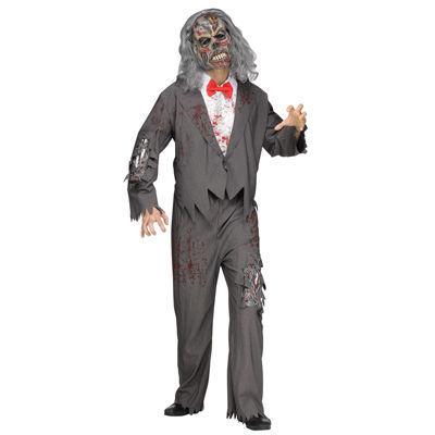 Zombie Groom Adult Costume - One Size Fits Most