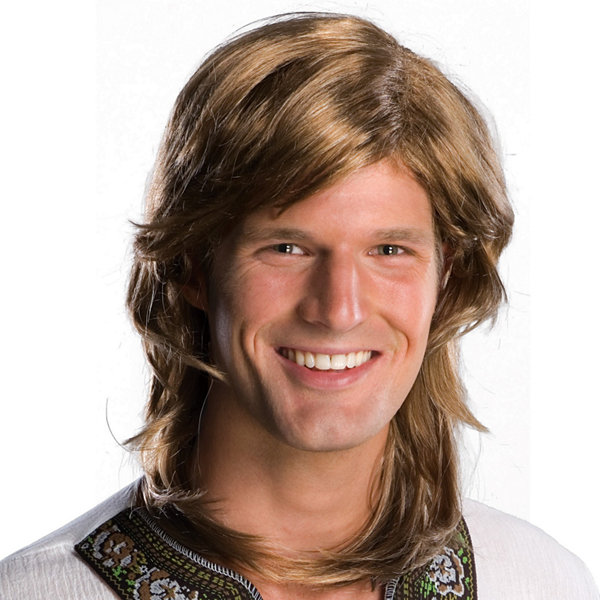 70's Guy Brown Wig