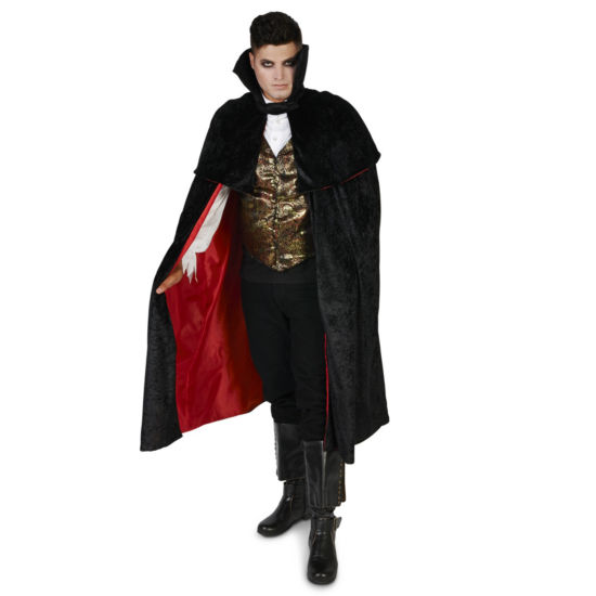 Black Gothic Vampire Male Adult Costume