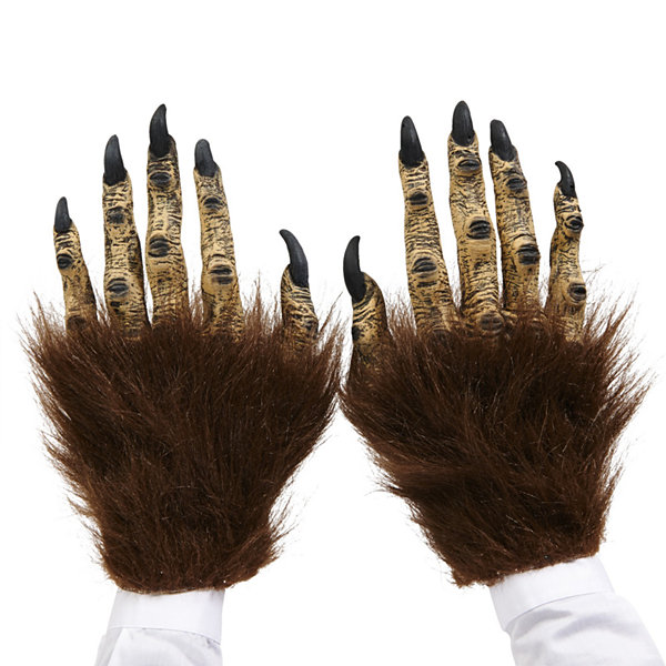 Brown Beast Adult Latex Hands