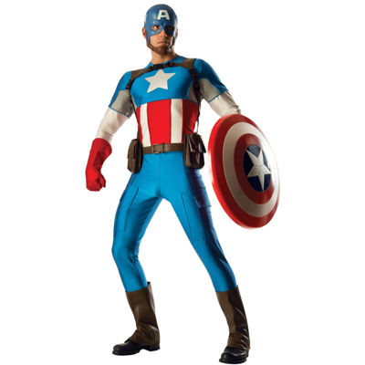 Adult Captain America Grand Heritage Costume - One-Size