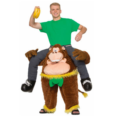 Monkeyin' Around Pull-On Pants Adult Costume -One Size Fits Most