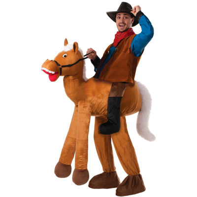 Ride a Horse Pull-On Pants Adult Costume - One Size Fits Most