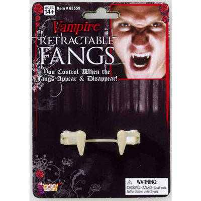 Retractable Fangs Adult