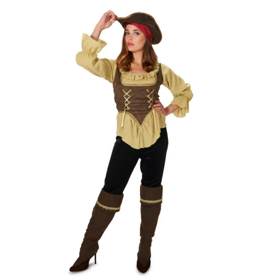Renegade Pirate Queen Adult Costume