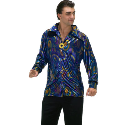 Dynamite Disco Shirt Adult Costume