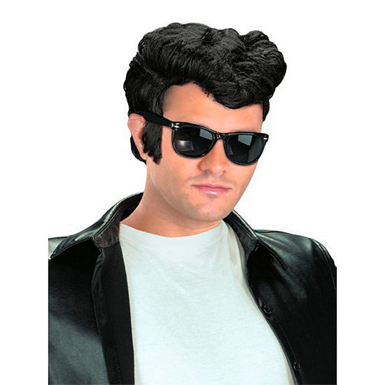 Greaser Adult Wig Black