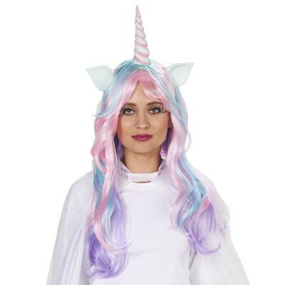 Pastel Unicorn Adult Wig