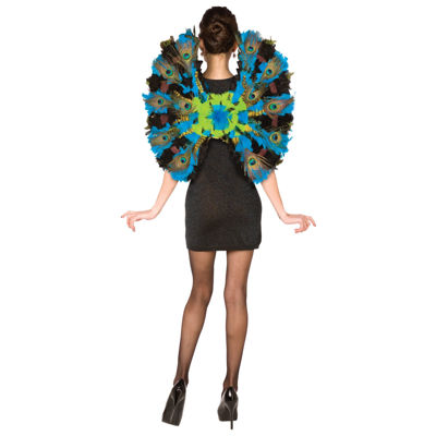 Peacock Wings Adult Costume