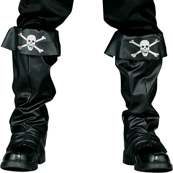 Pirate Boot Covers Adult Costume Accessory