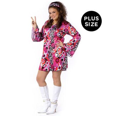 Feelin' Groovy Plus Size Adult Costume