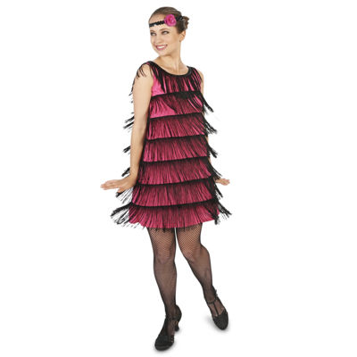 20's Pink Flapper Adult Costume
