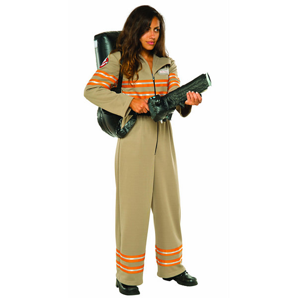 Ghostbusters Movie: Ghostbuster Female Deluxe Adult Costume