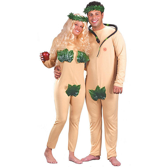 Adam & Eve Adult Costume - One-Size Fits Most