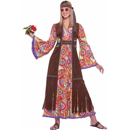 Hippie Love Adult Costume Womens Costume