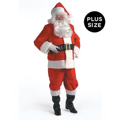 Kris Kringle Suit Adult Costume