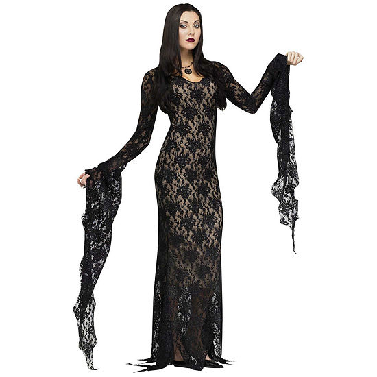 Buyseasons Lace Morticia Adult Costume