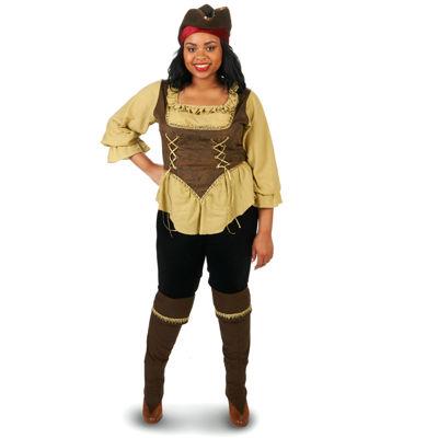 Renegade Pirate Queen Adult Plus Costume
