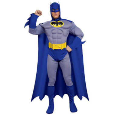 Batman Brave & Bold Deluxe Muscle Chest Adult Costume