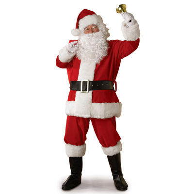 Legacy Santa Suit Adult Costume - One Size Fits Most